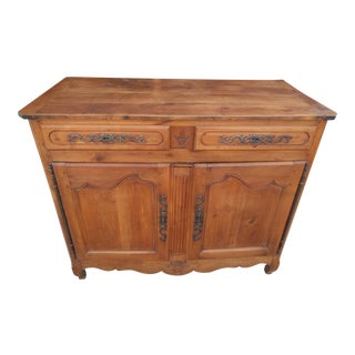 Late 18th Century Louis XVI Cherry Credenza