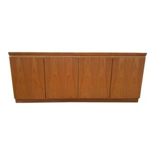 Mid Century Modern Danish Skovby Rosewood 4 Door Credenza For Sale