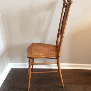 Heywood Brothers Wakefield Antique Victorian Wicker and Cane Chair Preview