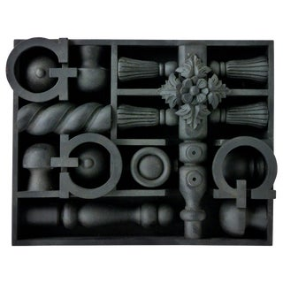 "Glen Pennington Wall Sculpture ""Glowing From the Spirit"" For Sale"