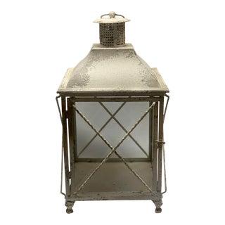 Spanish White Outdoor Lantern For Sale