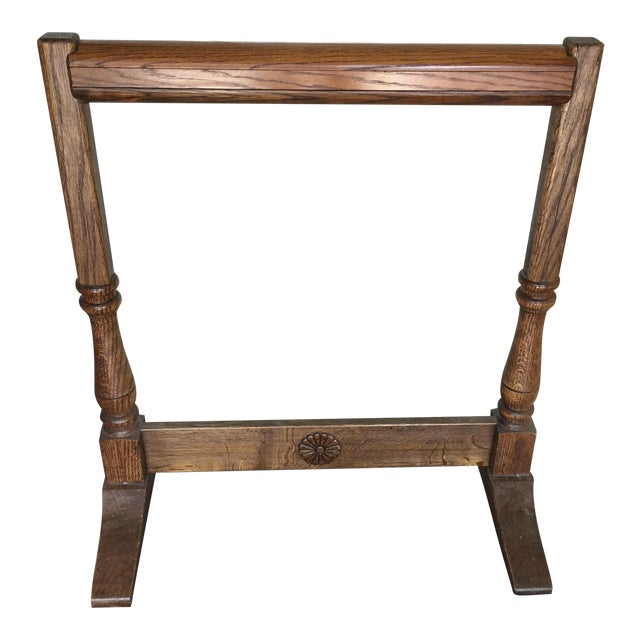 Oak Quilt Rack For Sale
