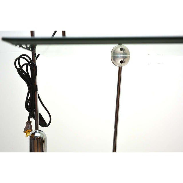 Mid-Century Modern Counterbalance Desk Lamp Attributed to Gae Aulenti For Sale - Image 10 of 10