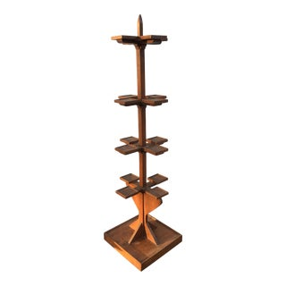 Tall Wooden Plant Stand For Sale