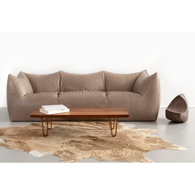 Brown Edward Wormley for Dunbar Long John Bench For Sale - Image 8 of 9