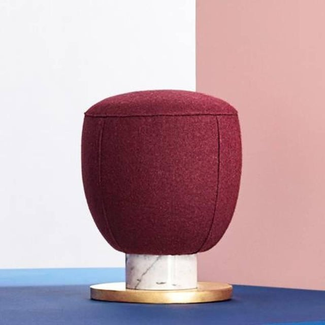 Toadstool Collection Ensemble Sofa, Table and Puffs, Masquespacio For Sale - Image 6 of 13