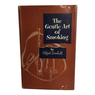 """The Gentle Art of Smoking"" Vintage 1954 Hardcover Book For Sale"
