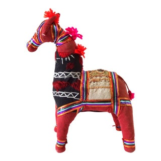 1970s Indian Banjara Horse For Sale