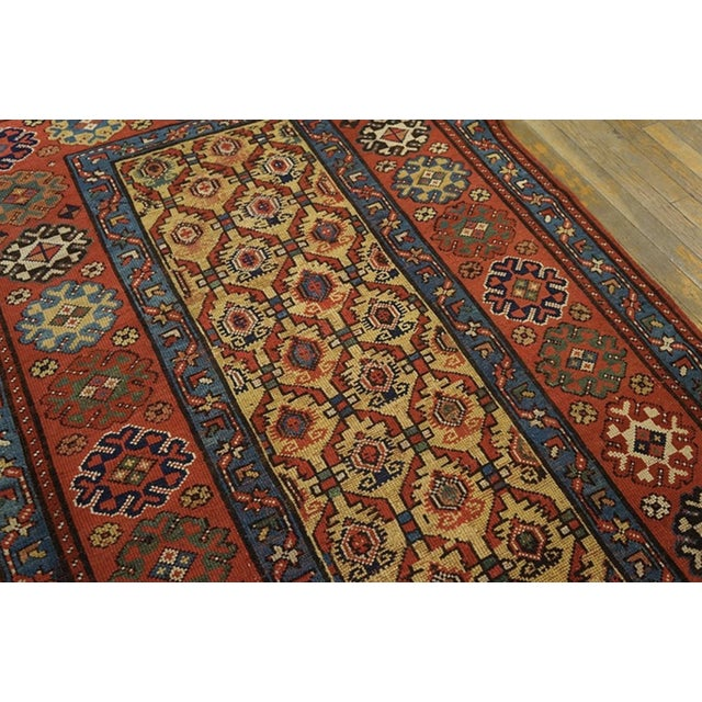 Late 19th Century Antique Persian Rug For Sale In New York - Image 6 of 7