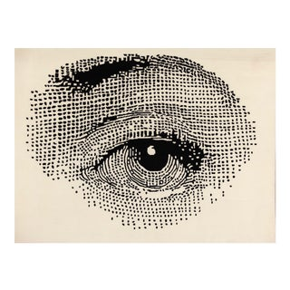 """Contemporary """"The Eye"""" Rug - 4'11 X 6'7"""" For Sale"""