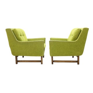 Danish Selig Vista Lounge Chairs Attributed to Dan Johnson - a Pair For Sale