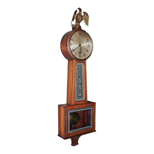 New Haven Banjo Wall Clock For Sale