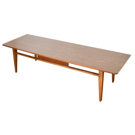 Lane Pearsall Style Mid Century Modern Coffee Table: Mid-Century Vintage Lane Coffee Table