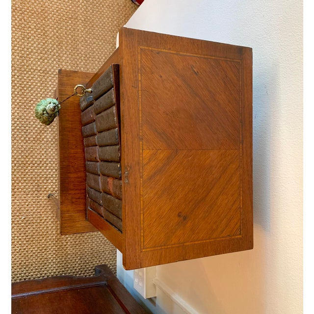 French Wood Phone Cabinet For Sale - Image 9 of 11