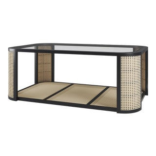 Lola Coffee Table - Black Iron For Sale