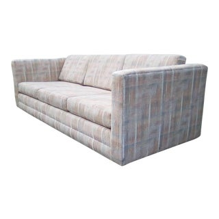 Mid Century Fabric Sofa For Sale