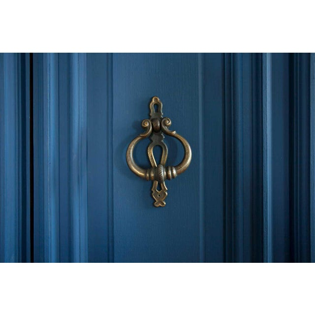 Vintage Blue Lucille Armoire - Image 4 of 7
