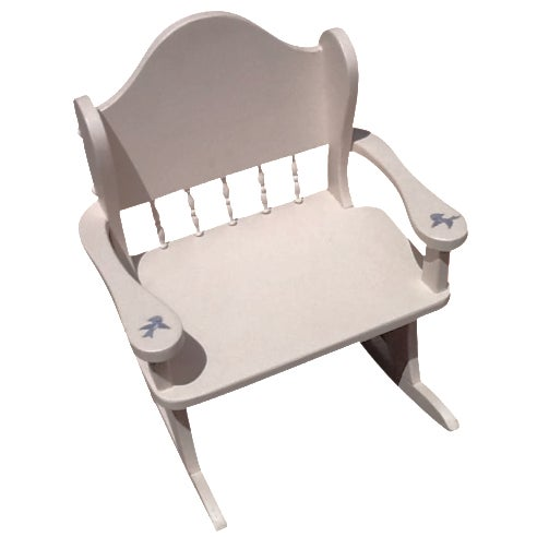 Vintage Child's Rocking Chair - Image 1 of 5