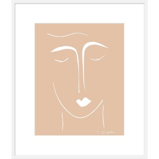 "Medium ""The Moderns II in Camel"" Print by Rob Delamater, 35"" X 41"" For Sale"