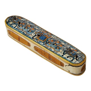 Vintage Bone Inlay Incense Box For Sale