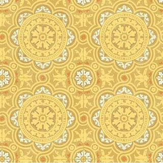 Cole & Son Piccadilly Wallpaper Roll - Ochre For Sale
