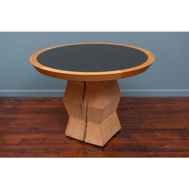 Christian Liaigre Christian Liaigre Yquem Pedestal Table For Sale - Image 4 of 9