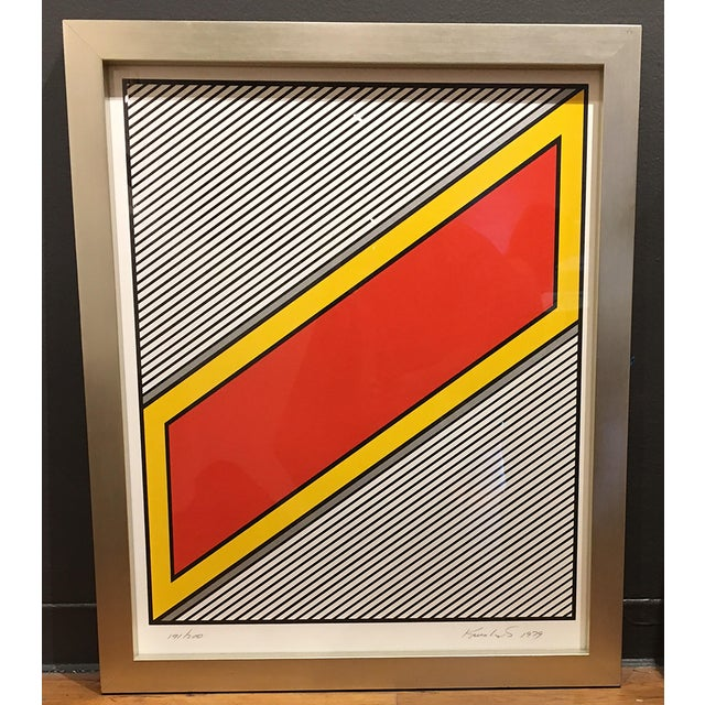 Nicholas Krushenick Silver Image 1979 Silkscreen, signed and numbered in pencil (from the edition of 200) Edition: 200, AP...