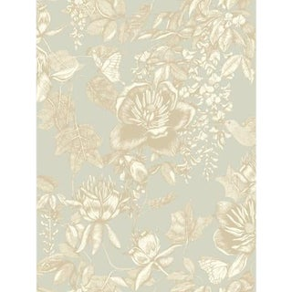 Cole & Son Tivoli Wallpaper Roll - Old Olive For Sale