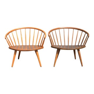 Danish Modern Yngve Ekström Arka Chair - a Pair For Sale