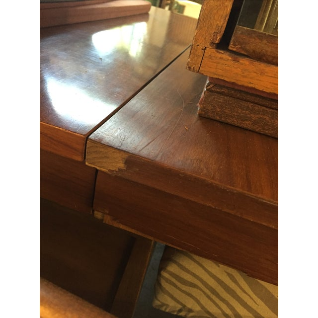Danish Style Mid Century Modern Dining Table - Image 8 of 9