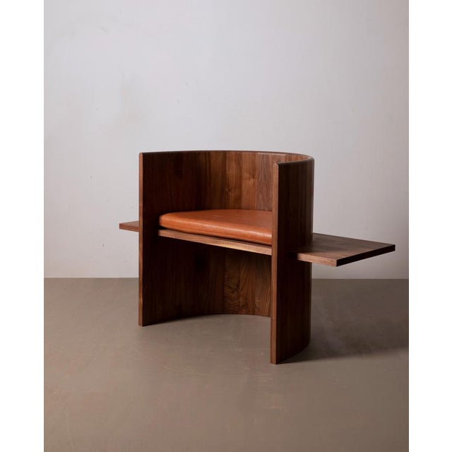 Not Yet Made - Made To Order Campagna (| Sit Chair in Walnut For Sale - Image 5 of 5