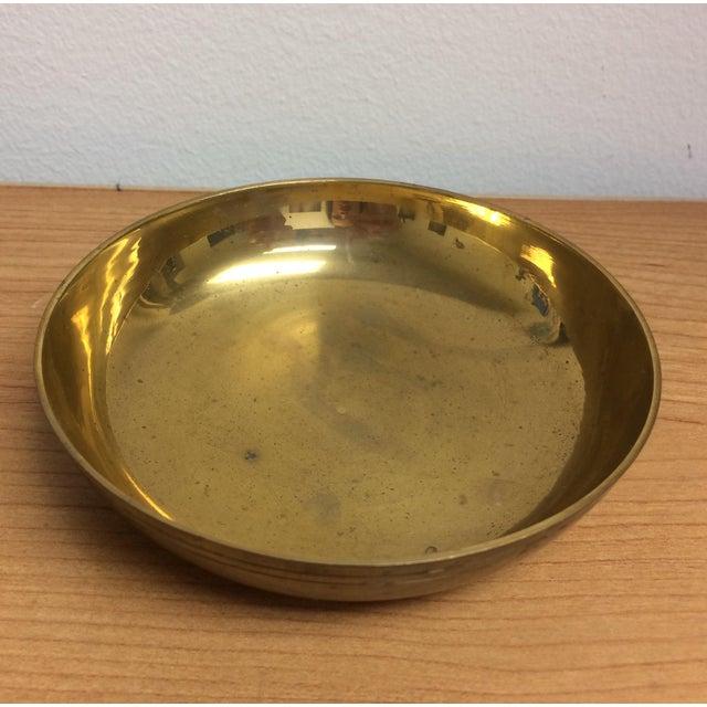 Green Pierced Brass Lidded Trinket Box For Sale - Image 8 of 8