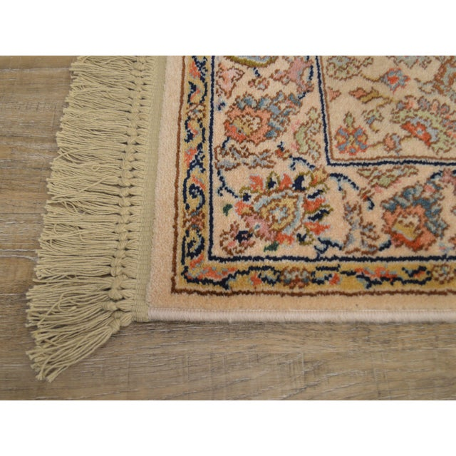 "Textile Karastan Tabriz 2'6""x4'3"" Throw Rug (A) For Sale - Image 7 of 12"