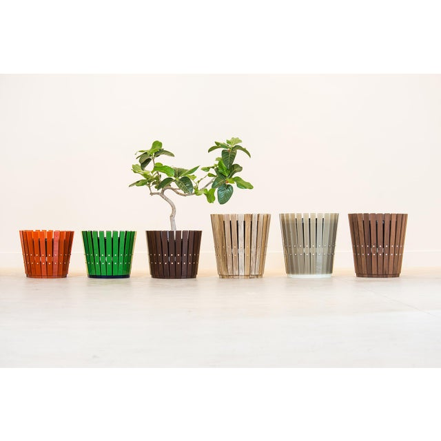 Customizable Plantum American Hardwood Modular Planter Cover - Image 7 of 7