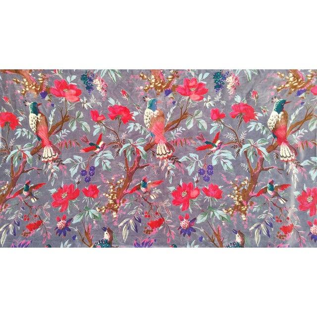 Vibrant Chinoiserie Velvet - Image 1 of 4