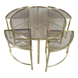 Mid Century French Coffee Table For Sale