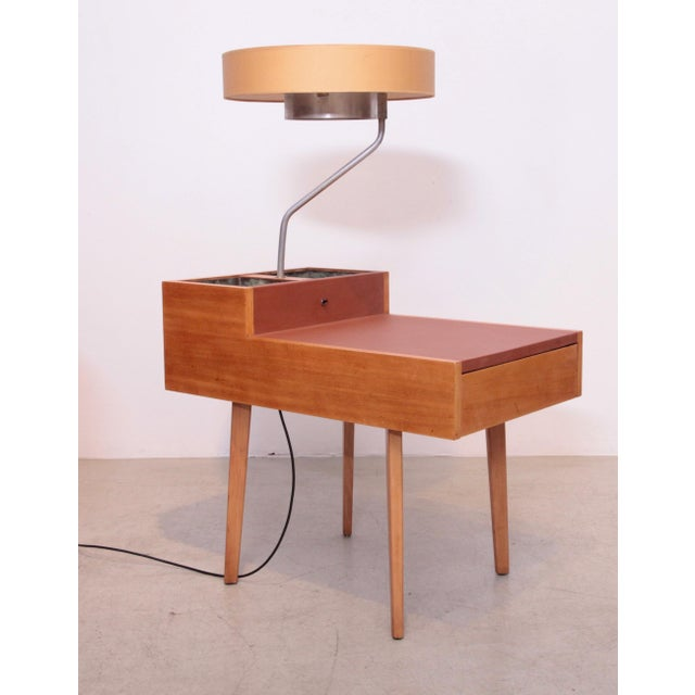 1950s George Nelson Planter and Lamp Table, Model 4634-L for Herman Miller For Sale - Image 5 of 10