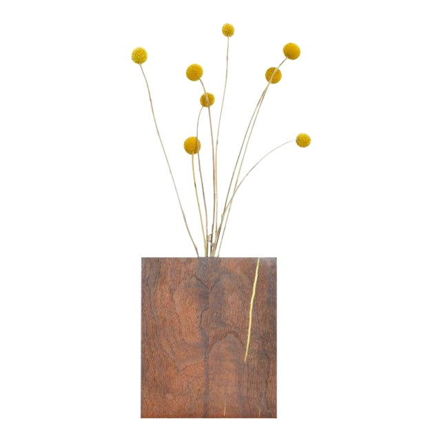 Ozshop Walnut Bud Vase For Sale