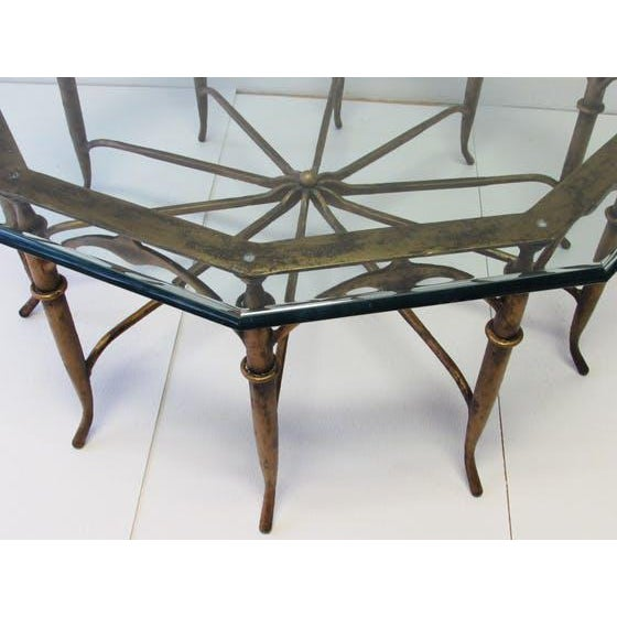 Italian Carlo Di Carli Style Spider Leg Coffee Table - Image 5 of 5
