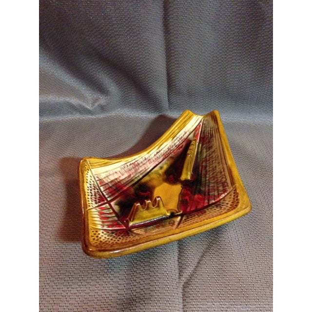 California Pottery Mid-Century Modern Ashtray For Sale - Image 4 of 5