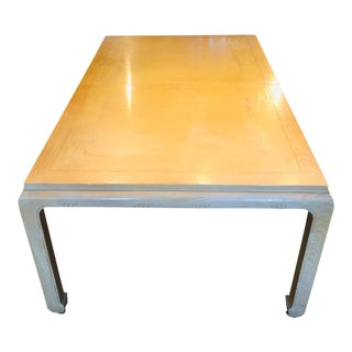 1980s Century Furniture Dining Table For Sale