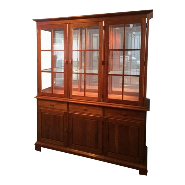 Pennsylvania House Shaker China Cabinet - Image 1 of 6