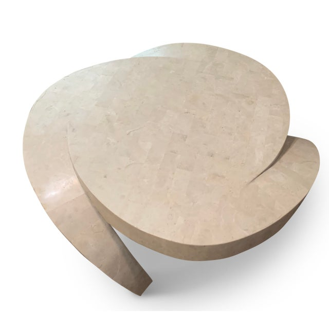 Stone Vintage Tessellated Marble Coffee Table For Sale - Image 7 of 11