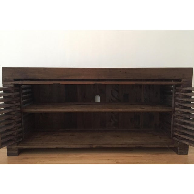 Restoration Hardware Slatted Door Sideboard - Image 6 of 7