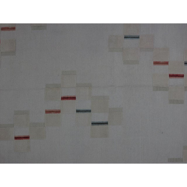 Soumak Design Hand Woven Wool Rug - 8' X 10' - Image 2 of 5