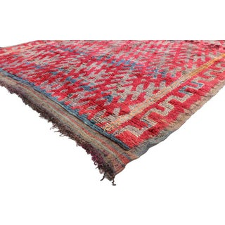 Late 20th Century Vintage Berber Moroccan Rug - 6′8″ × 11′ Preview
