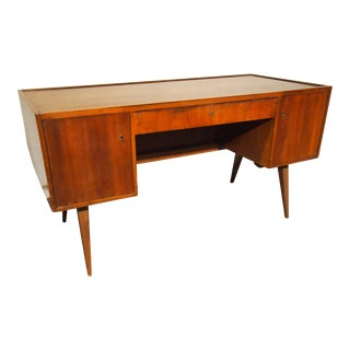 Mid-Century Modern Atomic Desk For Sale