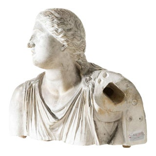 Antique Niobe Bust Sculpture For Sale