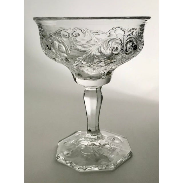 McKee glass produced this the Rock Crystal Pattern from 1915-1944. The beautiful floral design surround the bowl of the...