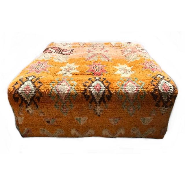 Islamic Vintage Turkish Over Dyed Rug Tribal Ottoman For Sale - Image 3 of 8
